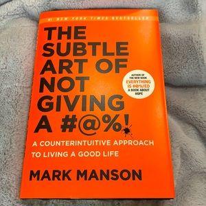Mark Manson Subtle Art of Not Giving a F self help
